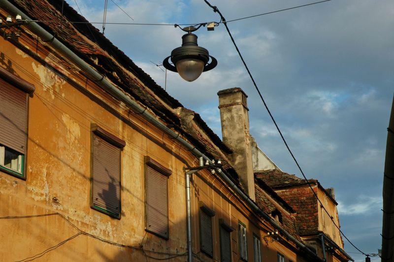 Sibiu street light