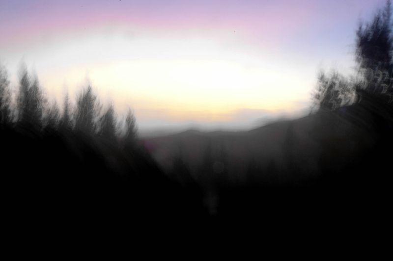 Fuzzy sunset