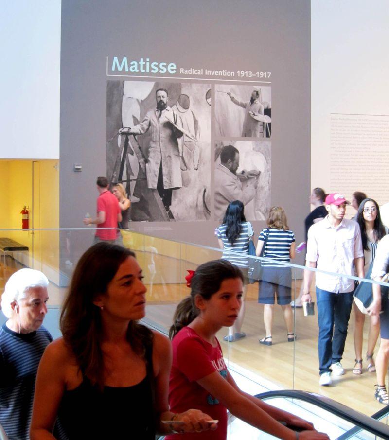 Matisse exhibit moma